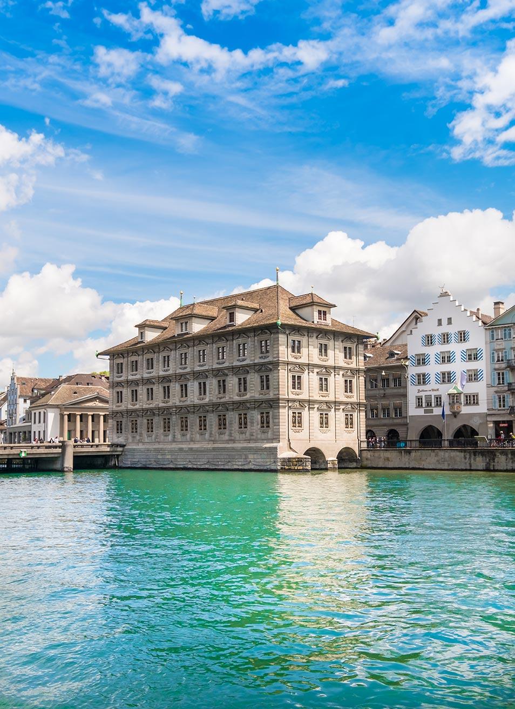 Rathaus on the water Zurich
