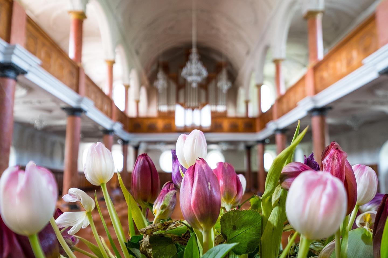 St Peters Church Flowers Zurich