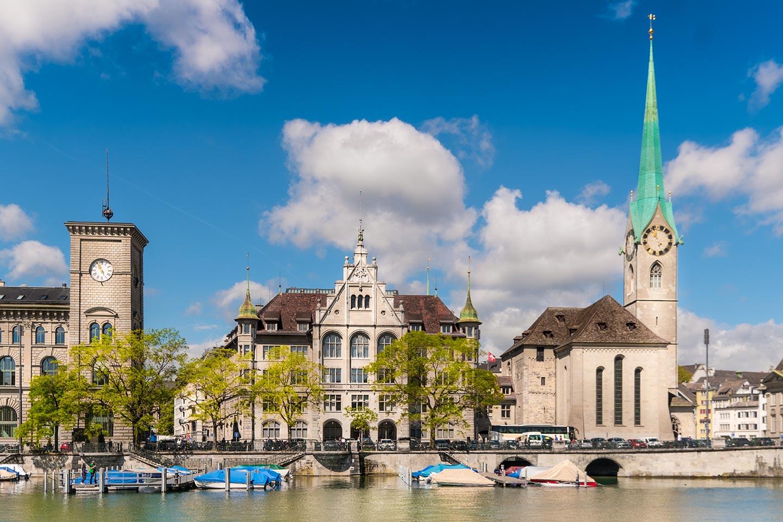 Stadthaus Outside Zurich