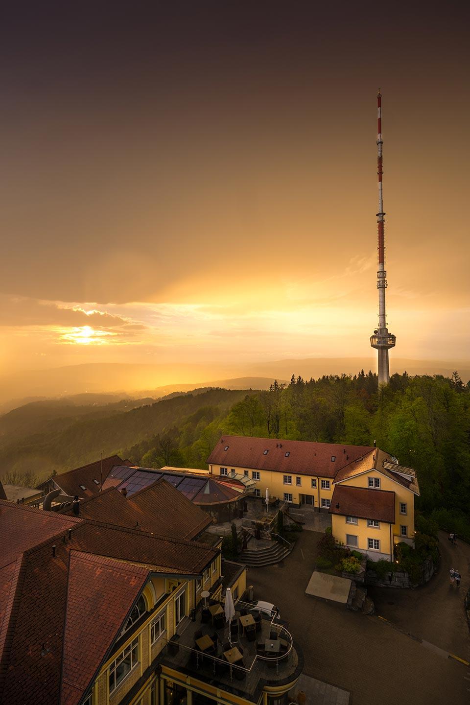 Sunset Uetliberg Zurich