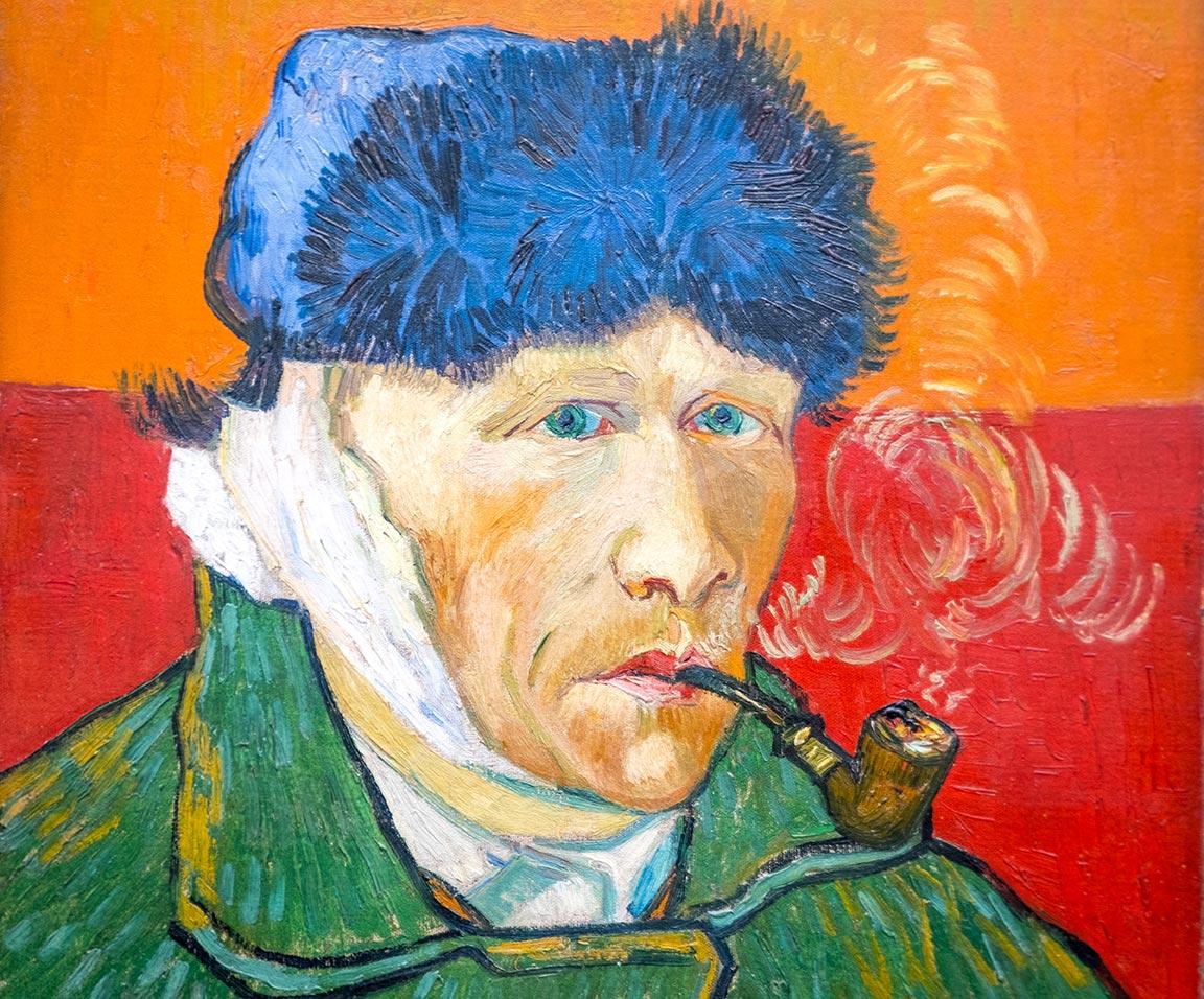 Things to do in Zurich - Van Gogh Portrait at Kunsthaus Zurich