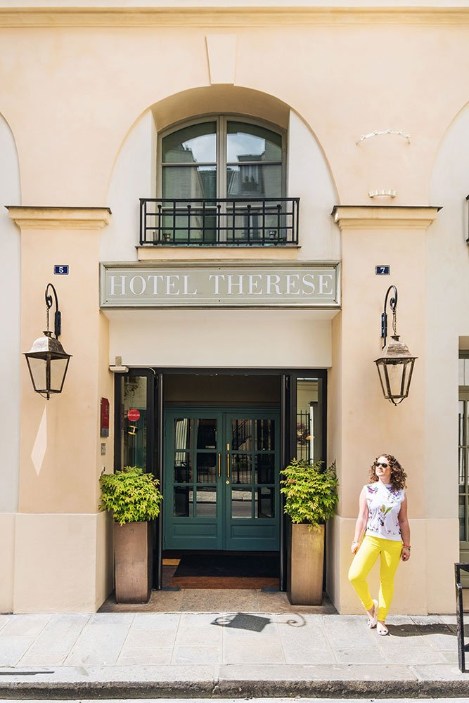 Hotel Therese Paris exterior