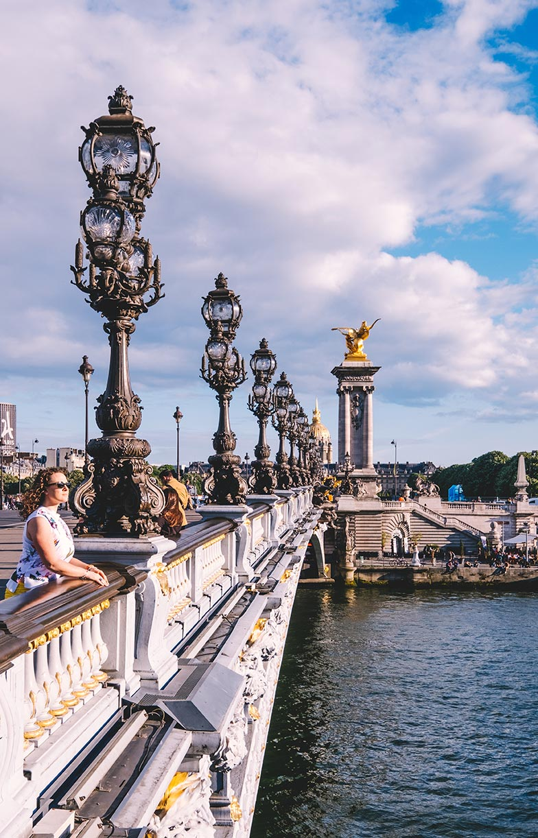 paris top attractions Pont Alexandre III