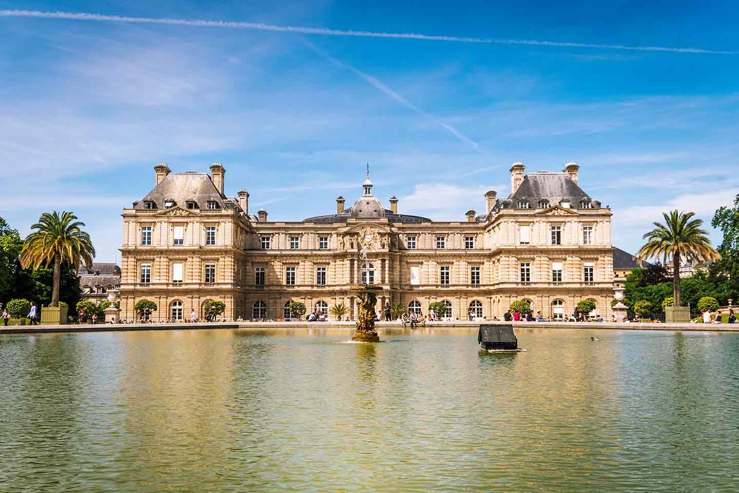 paris top attractions luxembourg gardens