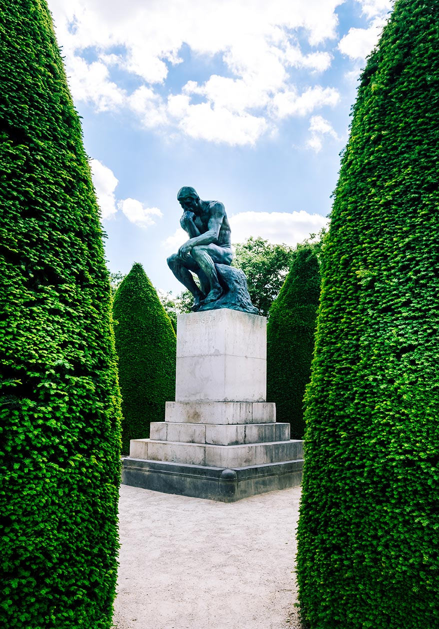 paris top attractions rodin museum the thinker