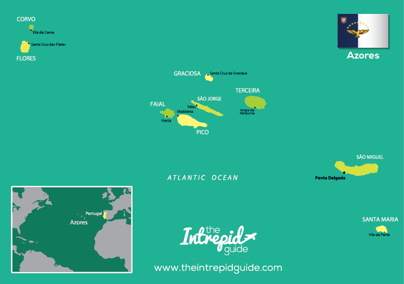 Where is the Azores travel guide