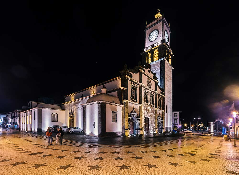 top 10 things to do in ponta delgada in 2018 Parish Church Sao Sebastiao at night