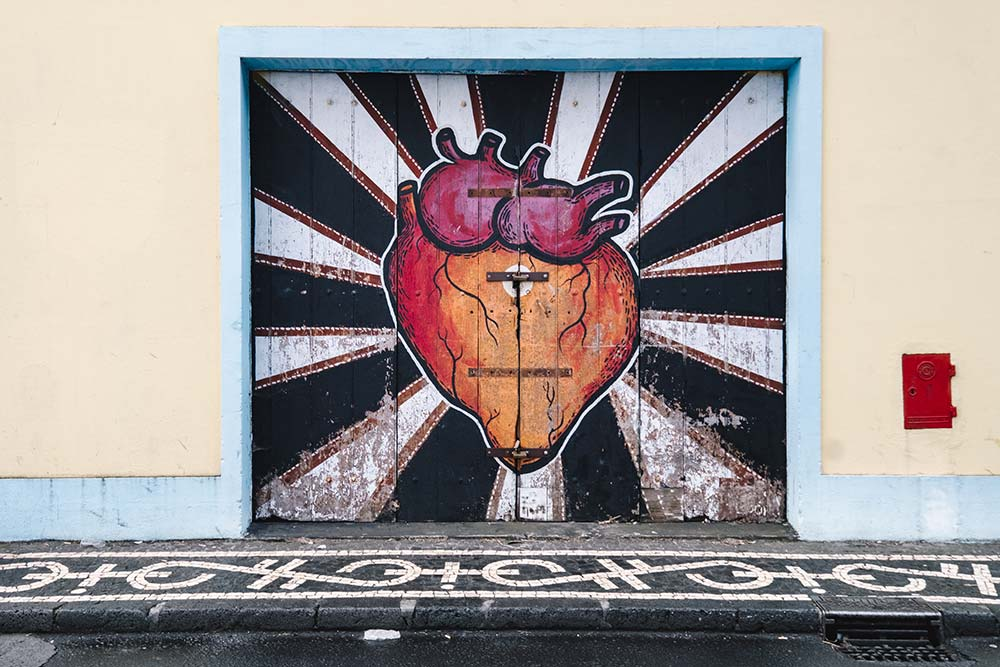 top 10 things to do in ponta delgada 2018 street art heart