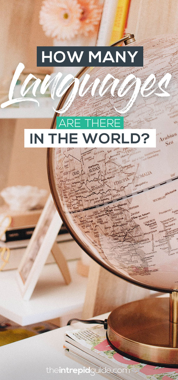 How many languages are there in the world 2019